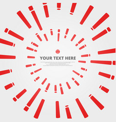 abstract pattern of red stripe line background vector image