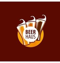 Beer logo vector