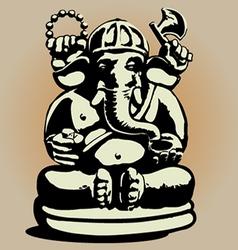 Dewa Ganesha vector