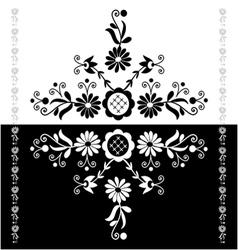 Folk Pattern Decor-b vector image