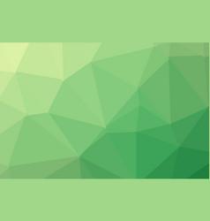 light green shining triangular background a vector image