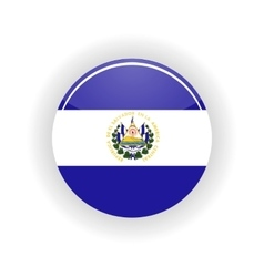 Salvador icon circle vector image
