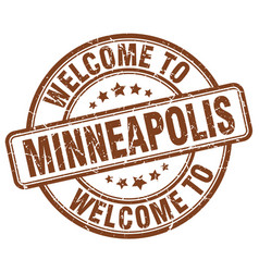 Welcome to minneapolis vector