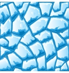 Ice seamless pattern vector image vector image