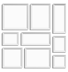 All kinds of frames vector image vector image