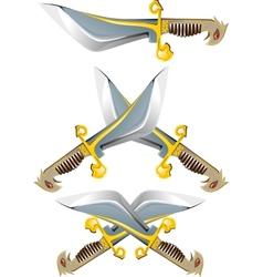 battle Knife vector image vector image
