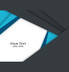 corporate template vector image