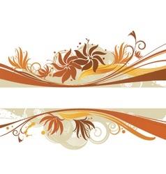 Graphic banner design vector