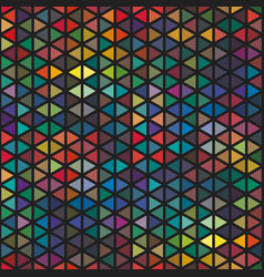 seamless abstract graphic plenty triangle pattern vector image