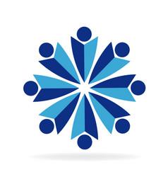 study group teamwork vector image