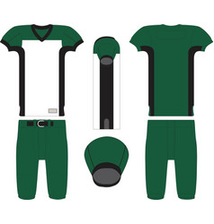 Throwback american football jersey vector