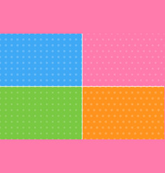 four abstract backgrounds in pastel colors vector image