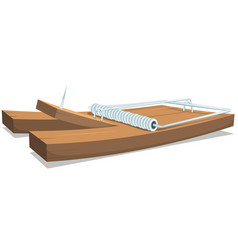 mouse or rat trap vector image