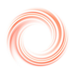 Abstract circle swirl background with space vector image