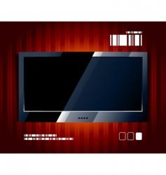 tv panel vector image