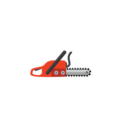 Isolated saw flat icon hacksaw element can vector