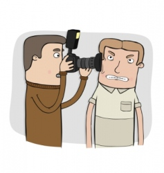 paparazzi vector image