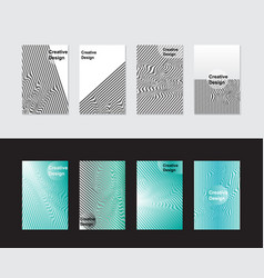 abstract covers design minimalist geometric vector image