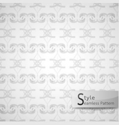 Abstract seamless pattern ribbon bow lattice vector