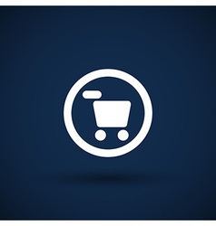Buy now icon button market sell retail vector