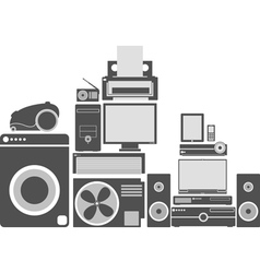 Equipment vector image