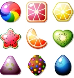 Fruit Candies vector