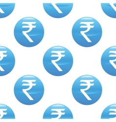 Indian rupee sign pattern vector