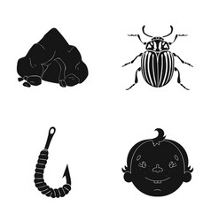 Laughter rest ecology and other web icon in vector