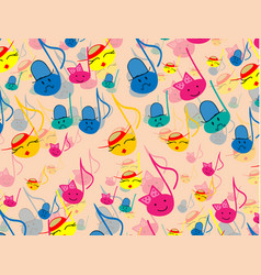 seamless abstract background vector image