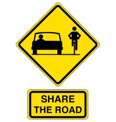 Share road vector