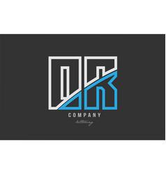 White blue alphabet letter or o r logo icon design vector