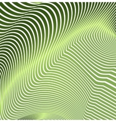 Abstract curved lines in the form of waves Modern vector image vector image