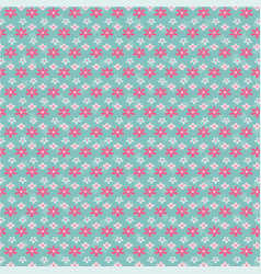 flower pattern design vector image vector image