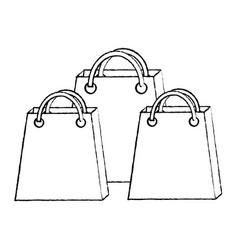shopping bag icon image vector image vector image