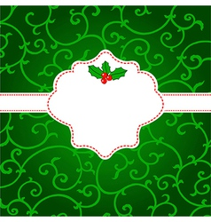 Cheerful card vector image