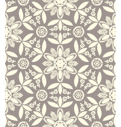 Floral ethnic pattern vector