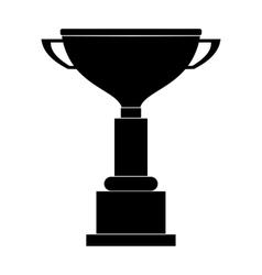 Goblet black simple icon vector