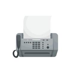 Isolated vecor fax vector
