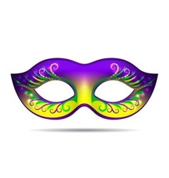 Mardi gras mask vector