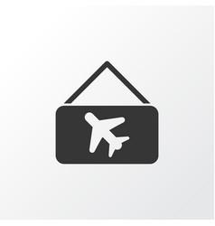 Picture airplane icon symbol premium quality vector