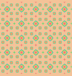 Seamless pattern on a beige background vector