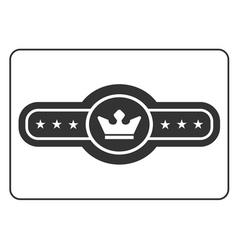Champion belt icon 4 vector