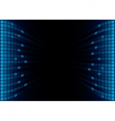 graphic equalizer display vector image