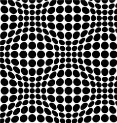 warp dots vector image vector image