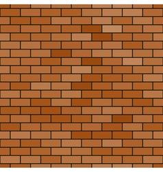 Abstract brick pattern vector image