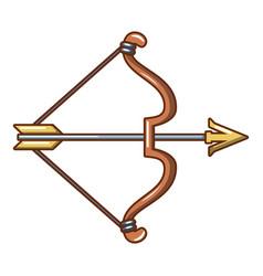Archery icon cartoon style vector