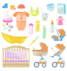 bagoods icons and design elements color vector image
