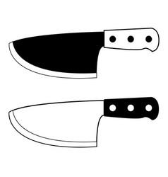 Knife 07 vector