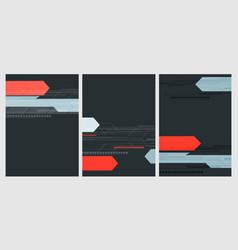 Modern templates vector
