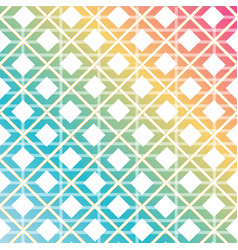 rainbow colored seamless background vector image